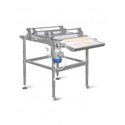 Masina de modelat paine fara cilindri, cu placa formatoare