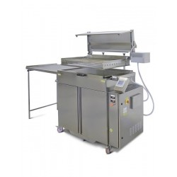 Friteuza profesionala semi-automata pentru gogosi, 67 litri