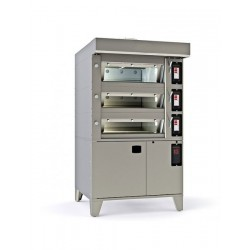 Cuptor modular cu vatra electric, 8 tavi 600x400 mm