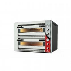 Cuptor pizza electric cu 2 camere, 9+9 pizza