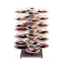 Suport servire pentru masa-48 farfurii
