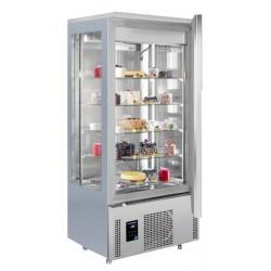 Frigider/Dulap frigorific patiserie vitrat, 400 litri (14/16 grade Celsius)
