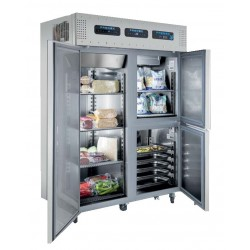 Frigider mixt cu 3 compartimente (refrigerare+congelare+abatitor)