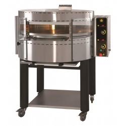 Cuptor rotativ pizza, alimentare gaz, 70-80 pizza/ora