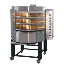 Cuptor rotativ pizza, alimentare gaz, 210-240 pizza/ora