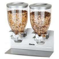Dispenser cereale dublu