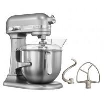 Mixer KitchenAid 6.9 litri, argintiu