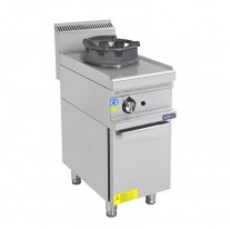 Aragaz/Masina de gatit de banc cu 1 ochi, pentru wok 16 kW cu dulap depozitare