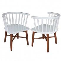Scaun din lemn cu spatar lemn zabrele
