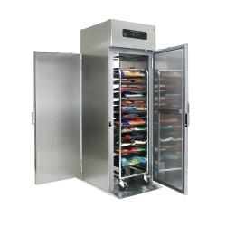 Dulap frigorific cu carucior incorporat pentru tavi GN 2/1