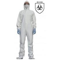 Combinezon de protectie impermeabil,Standard EN 14126, marime XL