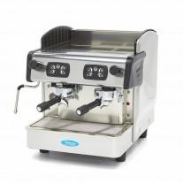 Expresor cafea profesional cu doua grupuri, boiler 6 litri