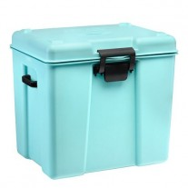 Termobox medical, albastru, 35 litri