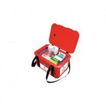 Termobox medical, rosu/galben, 11 litri