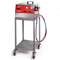 Carucior pentru aparat de pulverizat ciocolata - 1