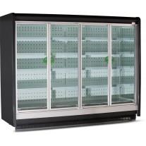 Vitrina frigorifica usi batante, rama aluminium, lactate/mezeluri/bauturi - 1