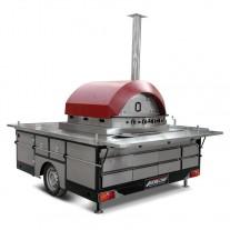 Cuptor mobil pizza, gaz - 1