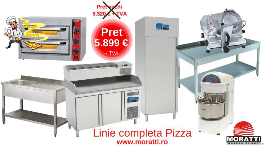 Linie completa pizza